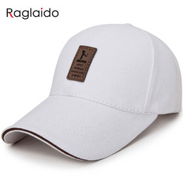 Raglaido men women baseball cap breathable street travel fitted hat snapback caps casual adjustable outdoor sun hats LQJ01411