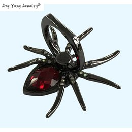 10PCS Race Jewelry Accessories Gem Spider Ring Buckle