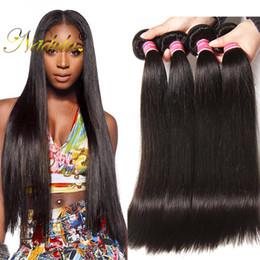 Nadula Raw Indian Hair BundlesStraight Human Hair Extensions Unprocessed Virgin Human Hair Weave BundlesDeals Wholesale Cheap 1-5Bundles