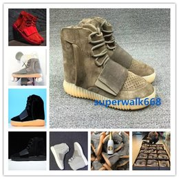Free newest Mens Boost 750 Blackout Outdoors Sneaker,Kanye West shoes Hot Sale 750 Boost, Skateboard Shoes,Sneakeheads Shoe High Heel