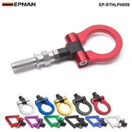 EPMAN Eudm Model Car Auto Trailer Hook Ring Eye Tow Towing Front Rear Aluminum For European Car EP-RTHLPH009
