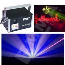 3 watt full color stage laser show lighting rgb animation dj laser light for event stage