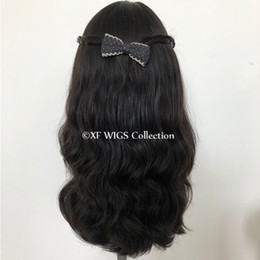 Lots in stock&fast delivery 20 inch natural color natural wavy virgin Brazilian Hair Jewish Wigs for the Passover