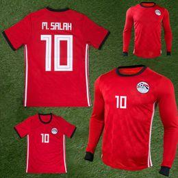 2018 2019 Egypt soccer jersey M. SALAH world cup Home Red 18 19 KAHRABA A. HEGAZI RAMADAN national team uniforms jerseys footbal shirts