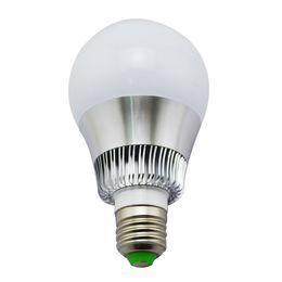 Wireless remote control light bulb 16 color discoloration led bulb 7 color RGB color lamp intelligent dimming e27 screw port B22