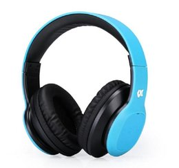 Wireless Over Ear Bluetooth Headphones with Microphone Over-ear Stereo Bluetooth Earphones for Gaming TV PC (Blue)