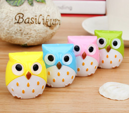 Kawaii Owl Pencil Sharpener Cutter Knife Promotional Gift Stationery free shipping high quality 2018 new hot sales whoesales oem office