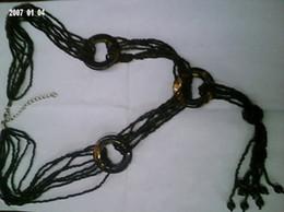 Short black rice jewelry necklace jewelry yiwu huaicheng jewelry