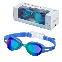 ROTERDON Swimming Goggles Kids, Kid Swim Goggles Eyes UV Protection Anti Fog Junior Goggle Water Proof for Teens Swim Toddler Fitness Youth