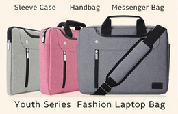 "free shipping 2018 New Brand Nylon Sleeve Case For Laptop 11"",13"",14"",15"",15.6"",Messenger Handbag Bag For Macbook Air 13.3,15.4 2018 new hot"