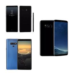 Real Fingerprint Goophone 9 plus N9 Android 7.0 Unlock Phone Quad core 16gb Rom Show Octa core Tmobile 4G LTE 4GB +64GB Sealed box