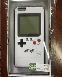 Tetris Game Boy Player Phone Case Back Cover For iPhone 6 6S 7 8 Plus Gameboy