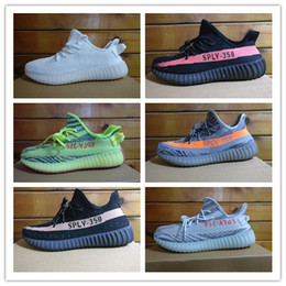 Originals Kanye West Sply 350 V2 Beluga 2.0 Blue Tone Semi Frozen Yellow Cream White Zebra Red Black Men's Sports Shoes Girls Running Shoes