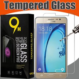 Tempered Glass 9H Film Guard Screen Protector For Samsung A320 A520 A720 A3 A5 A7 J320 J520 J720 J3 J5 J7 2017 C5 C7 C9 Pro C8 Retail Box