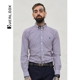 EL Men's Wear |2018 Spring New Product Basic Fund Fashion Leisure Time Shirt Male Long Sleeve Youth Self-cultivation Shirt