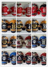 Multi- colors NHL Ice Hockey Baseball Jacket Men Women Streetwear HipHop Loose Ice Hockey USA Embroid Sweater Coat