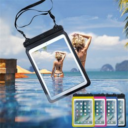 """Universal Waterproof Case Dry Bag Pouch for iPad Pro Samsung Tab S4 Tab A Galaxy Book Huawei MediaPad M3 M5 Pro Up to 12.9"""""""