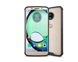 High qualityFor Moto G4 G5 S G6 cell phone cases with Mobile phone shell air bag drop protection frame transparent PC+TPU factory price