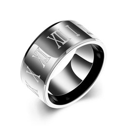 hot Europe wide version of titanium steel ring