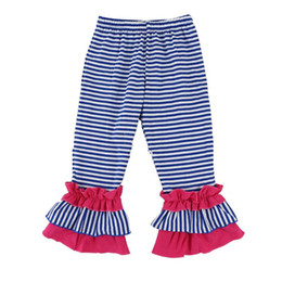 Hot Sale Kids Ruffle Pants Baby Toddler Clothes Girls Single Ruffle Pants Wholesale