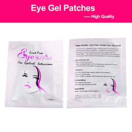 Eye Gel Patches Eye Pad for Eyelash Extension Lint Free Lashes Extension Mask Eye Pads Wholesale