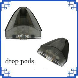 hot sales Drop pods Unit 2ml for Drop Kit Electronic Cigarette Spare Parts Accessories High Quality 0266185