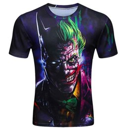 Europe and the United States Dark Knight 3D printing women's short-sleeved T-shirt