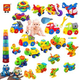 Wholesale - DIY assembled children's toys,various model, colorful and environmentally safe materials,to cultivate children's creativity