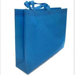 Non-woven embossed Handbag shopping shoulder bags New Plain bags high-end portable clothing non-woven bag
