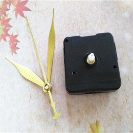 Wholesale 50 Sets Sweep 12MM Shaft Insertion Clock Quartz With Gold Hands For DIY Clock Repair