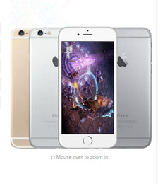 Refurbished Original Apple iPhone 6 Support fingerprint Cell Phone 4.7 inch ROM 16GB A8 IOS 8.0 4G FDD-LTE Unlocked mobile phone
