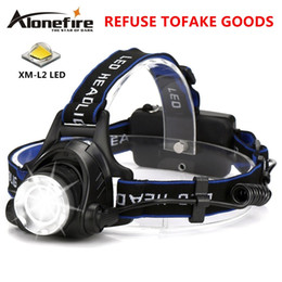 AloneFire HP79 CREE XM-L2 LED 4000 Lumens Rechargeable Zoom Headlight LED Headlamp CREE For 2x18650 Battery