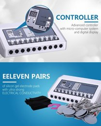 New arrival ems machine, russian wave electrode stimulation machine, electic body slimming massager