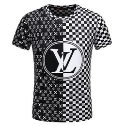2018 fashion new classic men and women T-shirt designer brand men and women spring and summer sports breathable short-sleeved T-shirt E3