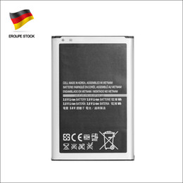For Samsung Galaxy Note 3 3200mah 3.8V Replacement Battery Lithium Rechargeable N9000 Batteries B800BE Germany Stock dhl ddp freeshipping