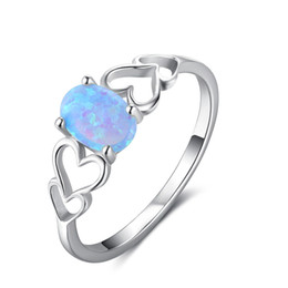 RI102891 simple design 925 sterling silver lady ring fashion ring China hearts jewelry for lover China real silver rings wholesale