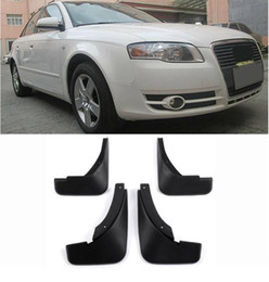 FRONT&REAR MUDFLAPS MUD FLAP FIT FOR AUDI A4 B7 2005 2006 2007 2008 MUD FLAPS SPLASH GUARDS MUDGUARDS FENDER ACCESSORIES