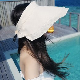 2018 ladies summer outdoor sun hat cover face fashion wild sun hat cap