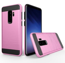 V_ERUS Case 2 in 1 PC + tpu shockproof back cover hybrid Armor Case mobile protector for iphone xs max samsung s8 s9 s10 plus huawei mate x