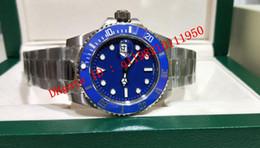 6 style top quality Vo5 2813 Movement Ceramic Bezel blue dail 40mm 116610 116610LV 116613 116660 116619 original box Mens Watch Watches