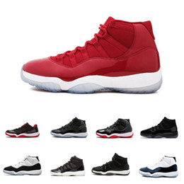 11 11s Cap and Gown Prom Night Men Basketball Shoes Platinum Tint Gym Red Bred PRM Heiress Barons Concord 45 Cool Grey mens sports sneakers