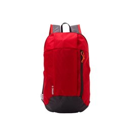 2018 new lightweight nylon Ms. men's skin care backpack travel backpack outdoor sports camping hiking bag backpack