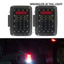 offroad JK LED tail light running signal turn reverse amber light break turn light parts accessories for car auto 4x4 Wrangler pickup trucks