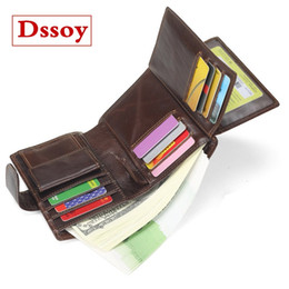 Designer Luxury Wallet Credit Card Holder Coin Purse Pouch Genuine Leather Dssoy Brand Zippy Wallets Porte Monnaie For Mens
