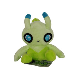 """Hot Sale Cute 7"""" 18cm Celebi Pikachu Plush Animals Stuffed Doll Toy For Kids Best Holiday Gifts"""