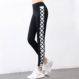 Yoga Pants Skinny Elastic Women Fitness Leggings Pencil Sportswear Gym Running Sexy Women Clothes New Fashion Spring Summer