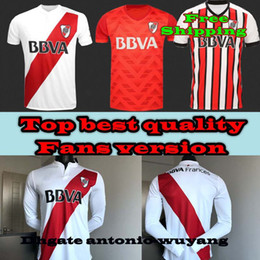 2018 River Plate 2017 18 home away Thid long Sleeve LS Soccer Jerseys Shirt TEO D,ALESSANDRO BALANTA CAVENAGHI VANGIONI Football uniforms