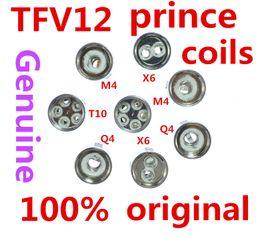 300% Original TFV12 Prince Cloud Beast Coil Head Replacement TFV12 Q4 X6 T10 M4 Coils Massive Vapor Vape Core Tank 100% Genuine Tech