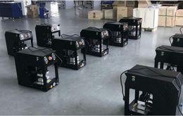 20ton No Air Compressor Auto Rosin Press Machine PURE ELECTRIC Auto dual heat plates rosin heat press machine with LCD panel