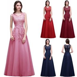 vestido de festa longo Lace Formal Evening Dress robe de soiree Appliques Sequins Long Party Prom Gowns Cheap CPS299